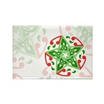 Celtic Christmas Star Rectangle Magnet (100 pack)