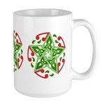Celtic Christmas Star Large Mug