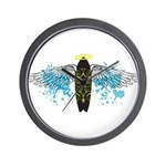 """Surf Angel: Tribe"" Wall Clock"