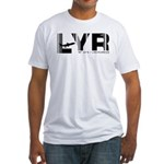 Longyearbyen Airport Norway LYR Fitted T-Shirt