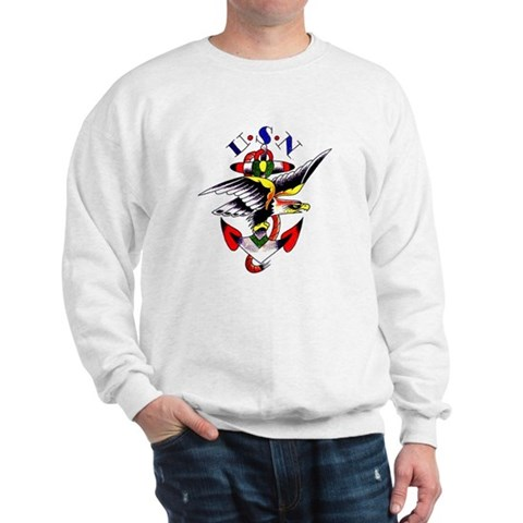 Re: Tattoo policy questions - 'excessive' United States Navy Tattoo Sweatshirt