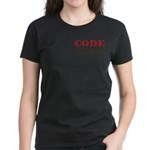 Code Brown! Women's Dark T-Shirt