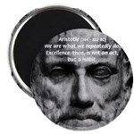 "Greek Philosophy: Aristotle 2.25"" Magnet (10 pack)"