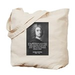Irish Idealist: George Berkeley Tote Bag