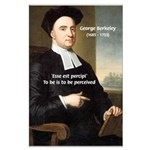 Philosopher: George Berkeley Large Poster