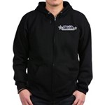 Father of the Groom Zip Hoodie (dark)