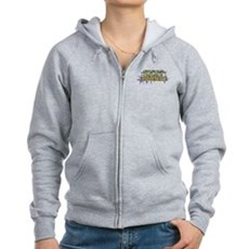 I Want Her to Aerobicize Womens Zip Hoodie