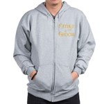 Sherbet Father of the Groom Zip Hoodie