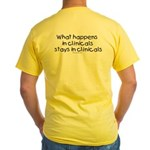 Student Nurse Clinicals Yellow T-Shirt