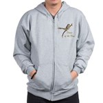Dance of the Frog Zip Hoodie