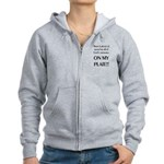 On My Plate Women's Zip Hoodie