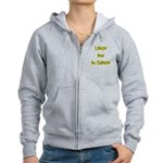 Large And In Charge Women's Zip Hoodie