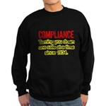 Compliance Turn Down Sweatshirt (dark)