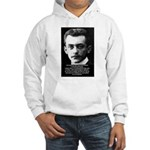 Philosopher / Scientist: Max Born Hooded Sweatshir