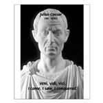 Great Roman: Julius Caesar Small Poster