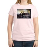 Christopher Columbus Women's Pink T-Shirt