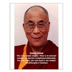 His Holiness the Dalai Lama Small Poster