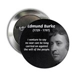 "Politics: Edmund Burke 2.25"" Button (100 pack)"