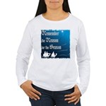 """Remember the Reason"" Women's Long Sleeve T-Shirt"