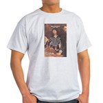 Philosopher: Rene Descartes Ash Grey T-Shirt