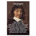 Philosopher Rene Descartes Large Poster
