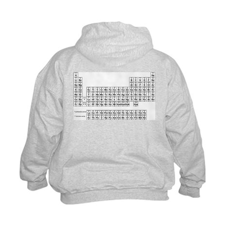 table of elements for kids. Table of Elements (Back) Sweatshirt