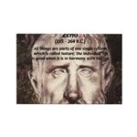 Stoic Philosophy: Zeno Rectangle Magnet (100 pack)