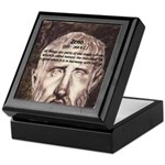 Stoic Philosophy: Zeno Keepsake Box