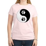 Yin Yang Paws Women's Light T-Shirt