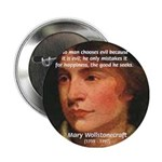Feminist Mary Wollstonecraft Button