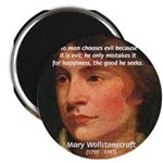 Feminist Mary Wollstonecraft Magnet