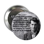 "Ludwig Wittgenstein 2.25"" Button (10 pack)"