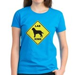 Labrador Xing Women's Dark T-Shirt