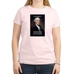 Politics: George Washington Women's Pink T-Shirt
