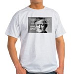 Musician Richard Wagner Ash Grey T-Shirt