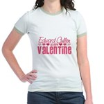 Edward Twilight Valentine Jr. Ringer T-Shirt
