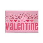 Jacob Twilight Valentine Rectangle Magnet (100 pac