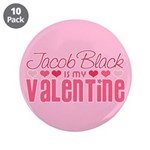 "Jacob Twilight Valentine 3.5"" Button (10 pack)"
