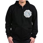 Market Father of the Groom Zip Hoodie (dark)