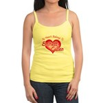 Emmett Cullen Heart Jr. Spaghetti Tank