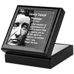 Philosophy / Nature: Thoreau Keepsake Box