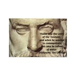 Greek Philosophy: Thales Rectangle Magnet (10 pack