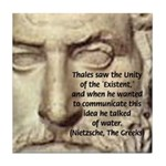 Greek Philosophy: Thales Tile Coaster