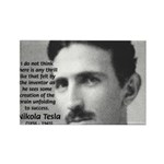 Nikola Tesla Rectangle Magnet (10 pack)