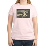 Rationalist Baruch Spinoza Women's Pink T-Shirt