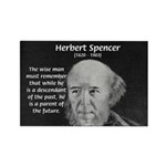 Herbert Spencer Rectangle Magnet (10 pack)
