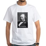 Evolutionist Herbert Spencer White T-Shirt