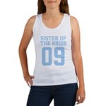 Sister of Bride 09 Women's Tank Top