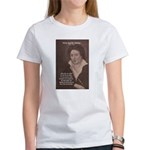 Writer Percy Bysshe Shelley Women's T-Shirt