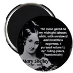 "Mary Shelley Frankenstein 2.25"" Magnet (10 pack)"